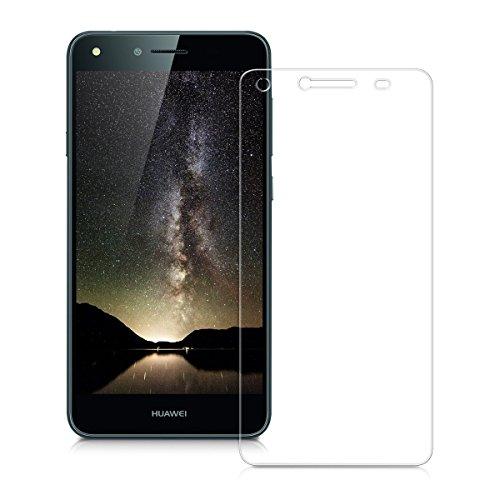 Copmob Cristal Templado Protector de Pantalla Huawei Y6II Compact, 2 Piezas Vidrio Templado Premium para Huawei Y6II Compact 9H Dureza Alta Definicion 0.25mm [3D Touch Compatibles] Transparente