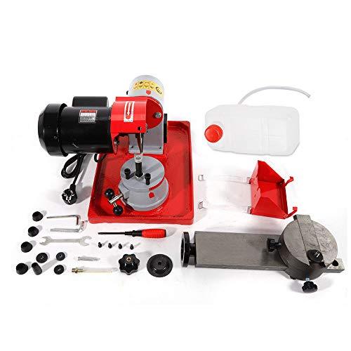SENDERPICK - Affilatore per lame per sega circolare, 220 V, motore solido, affilacoltelli da tavolo, 80 mm-700 mm, 250 W
