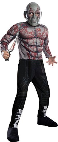 Rubie's Guardians of The Galaxy Vol. 2 Child's Deluxe Drax Costume, Medium