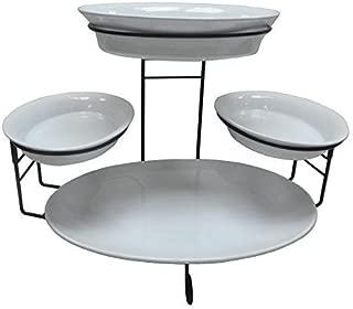 Best tiered buffet server 5-piece set Reviews