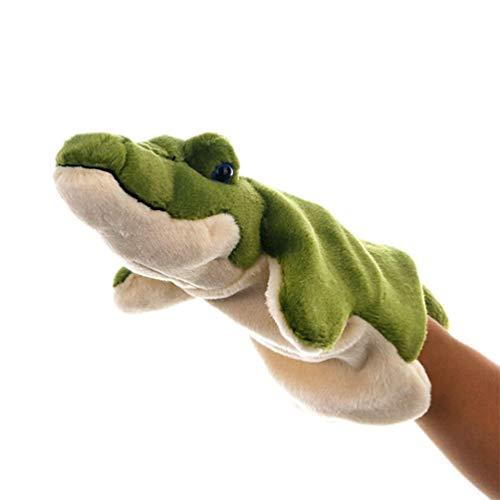 STOBOK Marionetas Mano Zoológico Dinosaurio Cocodrilo