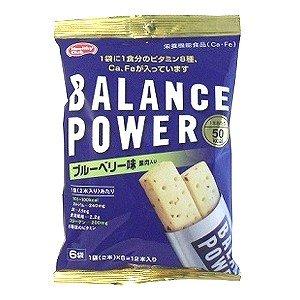 バランスパワー ブルーベリー味 6袋(12本)入