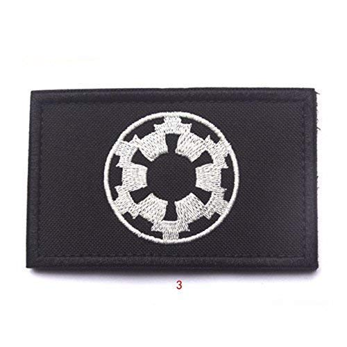 Imperial Forces COG Cosplay Bestickt Airsoft Klett-Patch
