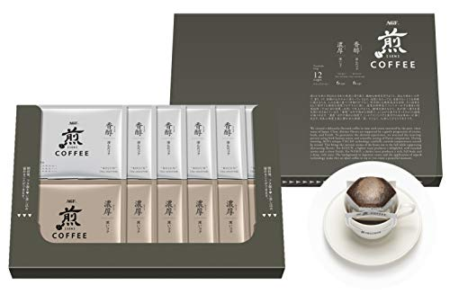 AGF 煎 レギュラー・コーヒー プレミアムドリップ アソート 12袋