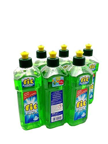 6er Vorteilspack Fit Spülmittel 3000 ml