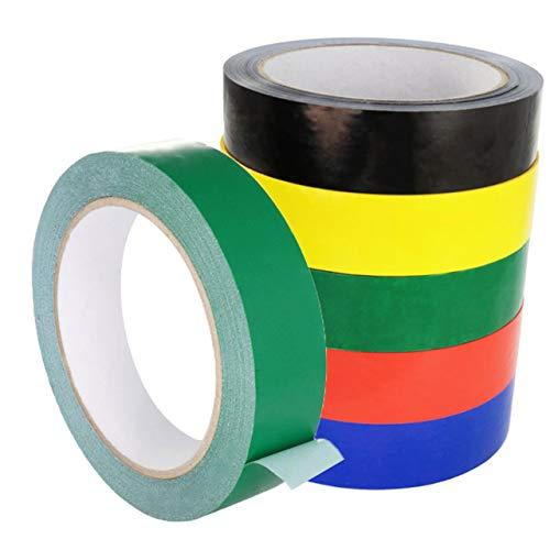 Einseitiges PVC-Klebeband | Universal einsetzbar | Zum Verkleben und Markieren | verschiedene Farben / 25 mm x 66 m