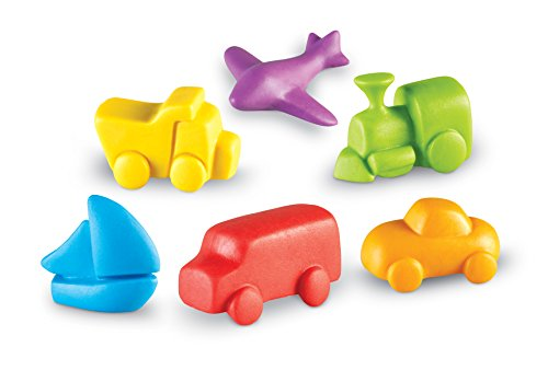 Learning Resources Around The Town Vehicle Counters, Set of 72