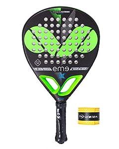 immagine di PADEL - Racchetta EME Extrem Power Ltd + Overgrip/Racchetta grande potenza e controllo in ogni colpo di palla/migliori racchette per adulti, uomo e donna