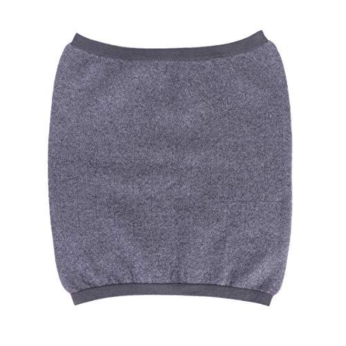 Healifty calentador de cintura calentador de estómago lana apoyos lumbares protector de calentamiento de estómago envoltura espalda banda de refuerzo gris s