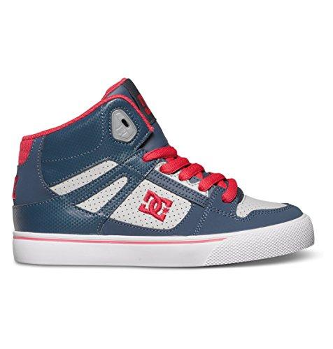 DC Shoes SPARTAN HIGH-D0303499B Jungen Sneaker, Bleu (Insignia Blue), 35.5 EU