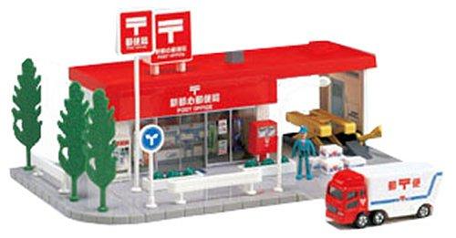 トミカタウン 郵便局 (高速郵便トラック 1台付き)