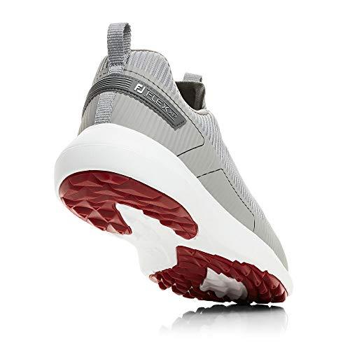 FootJoy Men's FJ Flex XP Golf Shoes, Grey, 7 M US