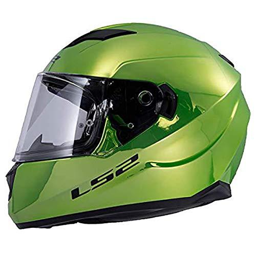LS2 Helmets Full Face Stream Street Helmet (Fallout Green Krome - Large)