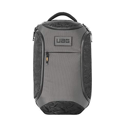 Urban Armor Gear Rucksack für Laptops und Tablets bis 16' - (24 Liter, maximaler, ergonomische Polsterung, wetterfeste Reißverschlüsse, verschleißfestes Material) Grau Midnight Camouflage