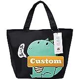 Claiyi Bolso Personalizado de Limpieza de Nombre Personalizado Nylon Satchel Bag para Mujeres Big Nylon Tote (Color : Luokekonglong, Size : One Size)