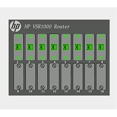 JG813AAE - HP VSR1008 HP VSR1008 Comware 7 Virtual Services Router E-LTU