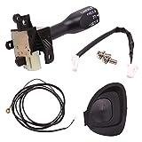 ZXC Autopartes Control de Velocidad Interruptor 84632-34011 for Toyota Corolla Vios Yaris Hilux Hiace Wish Auris Prius Previa RAV4 84632-0F010 84632-34017 Para Estrenar (Color : 45186 06210 C0)