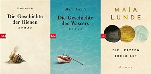 Set Die Geschichte der Bienen / Die Geschichte des Wassers / Die Letzten ihrer Art + 1 exklusives Postkartenset