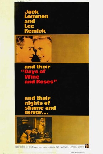 Days of Wine and Roses Poster Movie B 11x17 Jack Lemmon Lee Remick Charles Bickford Jack Klugman
