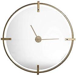 Cooper Classics Electra Modern Gold 36 Round Wall Clock