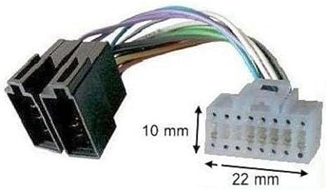 Techexpert Adapter Kabel Iso Für Autoradio Alpine Computer Zubehör