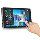 7' Touch Screen Camera Field Monitor,1920×1200 4K HDMI with 3500mAh Rechargeable Li-ion Battery for Canon Nikon Sony DSLR Camera/Camcorder