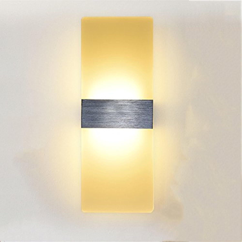 StiefelU LED Wandleuchte nach oben und unten Wandleuchten 8 Wled Schlafzimmer Nachttischlampe Wohnzimmer Balkon über Treppen, Wandleuchten, l80h 200 mm warmWeißlight