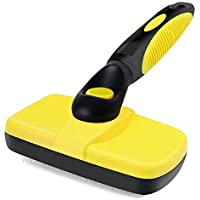 Jojepet Self Cleaning Slicker Hair Brush for Cats & Dogs
