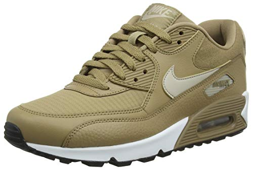 Nike Wmns Air Max 90 Damen Sneakers, Braun (CANTEEN/STRING-BLACK 212), 36.5 EU