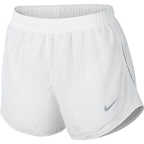 Nike Women's Dri-fit Tempo Track 3.5 Short (White/White/White/Wolf Grey, X-Small)