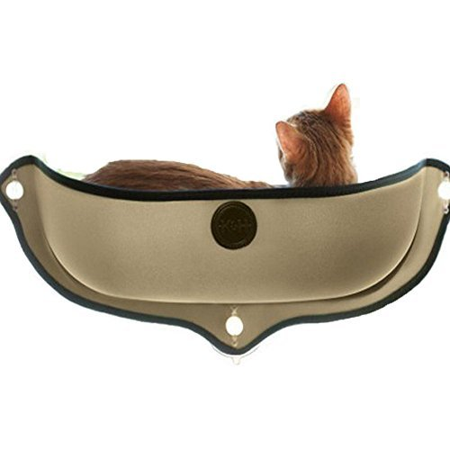 Hamaca para gato con ventosa para ventanas