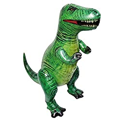 5. Jet Creations 37″ Giant Realistic Inflatable T-rex