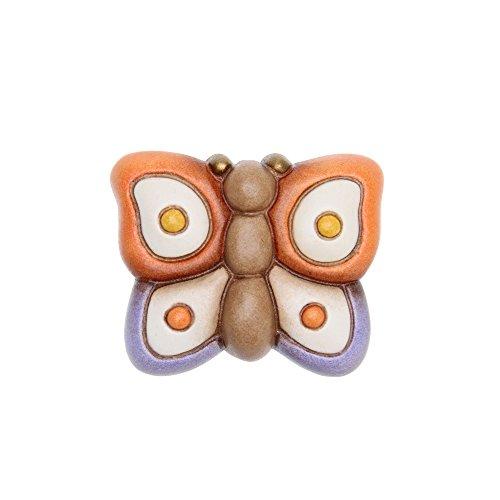 THUN Magnete con Farfalla Ceramica 5,2 x 4,3 cm