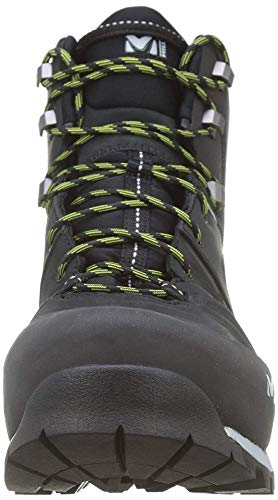 Millet - High Route GTX M - Chaussures Hautes de Randonnée - Homme - Membrane Gore-Tex Imperméable Respirante - Semelle Vibram - Noir - 44