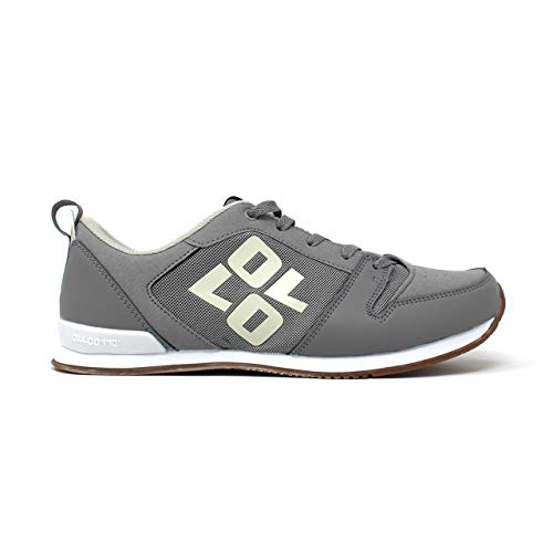 OLLO Zero S - Slate Myst Gum - Grey/White - Parkour and Freerunning Shoe - High Grip Sole Flexible Shoes - Best Shoe for Parkour, Freerunning, Ninja Training, and Obstacle Training… (8)