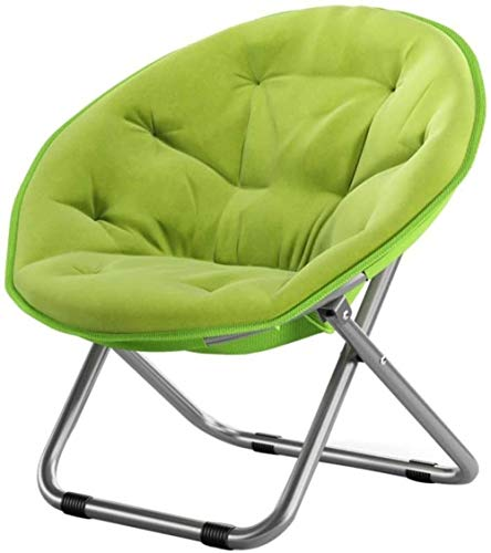 GBLight Sun Lounger Large Outdoor Chair for Adults for Outdoors/Sun Chair/Lazy Chair/Chaise Longue/Folding Chair/Round Chair/Armchair (Color : Green)