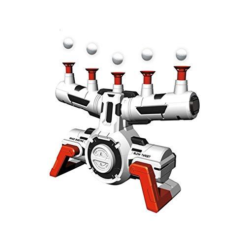 Ganmaov Elektrisch schwimmende Aufhängung Ball Ziel Kinderspielzeug, Tischtennis Spiel Ziel, Airshot Spiel Schaum Dart Blaster Schießspielzeug, für Gruppenspiel Kinder Kinder (Ohne Waffe)