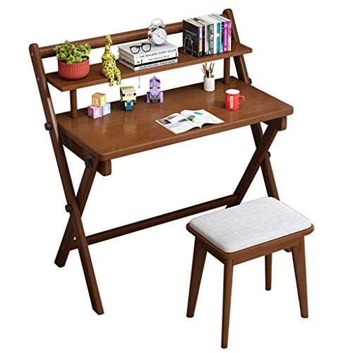 Mesas para ordenador Escritorio pequeño Plegable Simple Escritorio Combinado Estudiante de Escritorio...