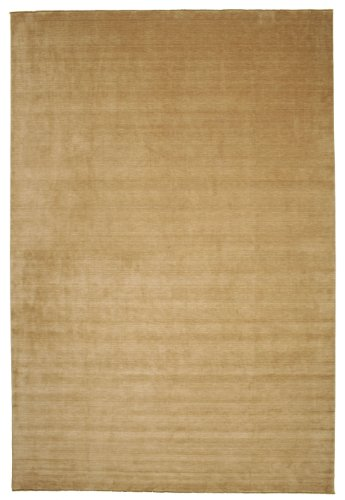 CarpetVista Alfombra Handloom Fringes - Beige 400x600 Alfombra Moderna