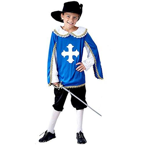 Mousquetaire enfants Age Fancy Dress Costume 4-6 [Jouet]