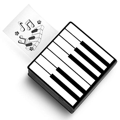 Phomemo M02 Mini Bluetooth Taschendrucker Thermofotodrucker Tragbarer Belegdrucker, Kompatibel mit Android- und IOS-System, zum Sofortigen Drucken von Retro-Fotos, Arbeiten, Studieren, Klavier