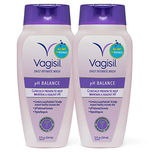 Vagisil pH Balanced Wash, 12 ounce (Pack of 2)
