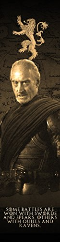 Tywin Lannister Game of Thrones Bookograph Metal Bookmark