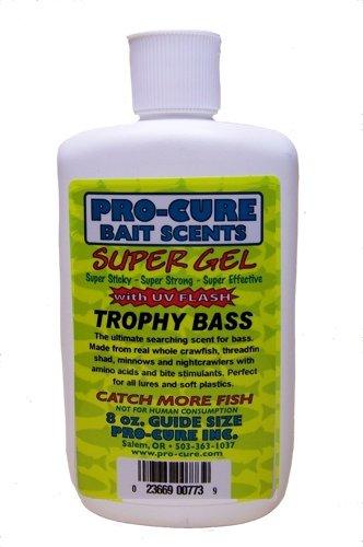 Pro-Cure Trophy Bass Super Gel, 8 Ounce, Multi (G8-BAS)