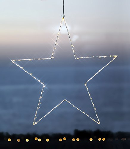 Sirius LED Leuchtstern Liva Star big 70cm Metall weiß