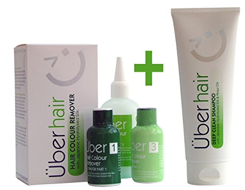 Bundle: Hair Colour Remover + Deep Clean Shampoo