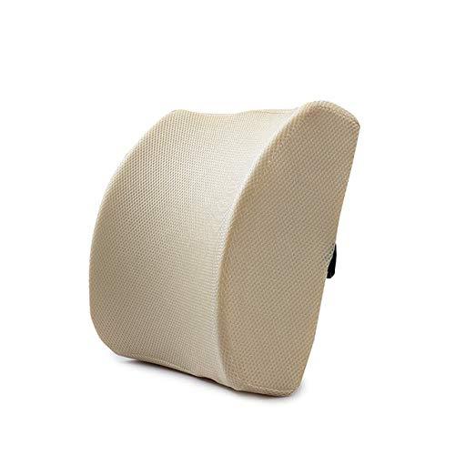 MENGCI Soft Memory Foam lendensteun rugmassageapparaat tailkussen kussen voor stoelen in de autostoel kussen thuis kantoor pijnverlichting