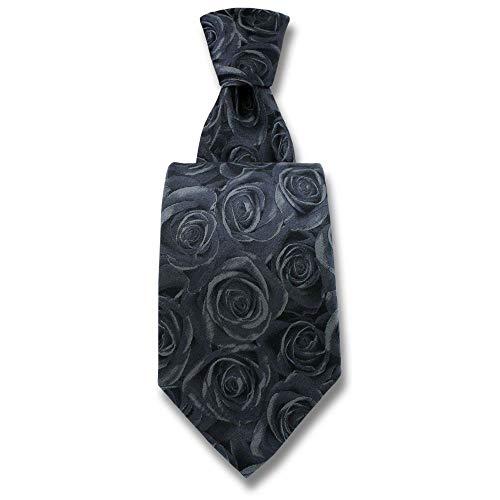 Robert Charles - Cravate Rose Grise