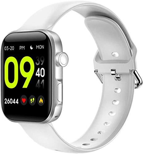 TYUI Reloj inteligente de 1,54 pulgadas, pantalla grande, llamada Bluetooth, compatible con iOS Android Smart Bracelet Reloj de pulsera