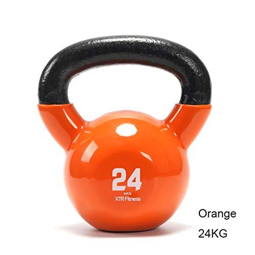 Manubri Kettlebell Fitness Femminile Hip Tozzo di Sollevamento Esercizio Attrezzature casa Muscolo del Braccio Kettlebell bollitore Uomini 2-32kg di Ling Allenamento con manubri (Dimensione : 2kg)